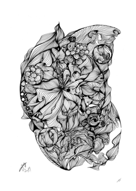 Flower Arabesque