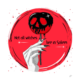 Not all witches live in Salem ⚡️⚡️