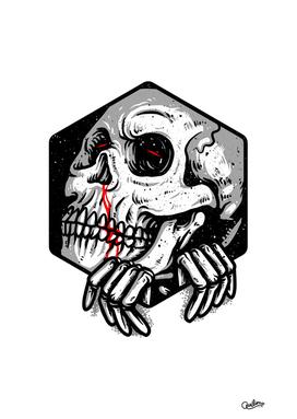 Skull Hexagon