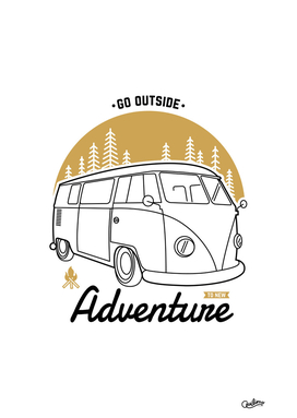 Go Outside to New Adventure