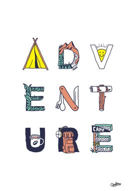Adventure Typography