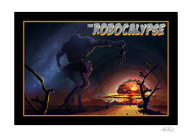 The Robocalypse Art Print, Cancas, Aluminum, Acrylic Glass