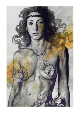 Colony Collapse Disorder: Gold (nude warrior woman)