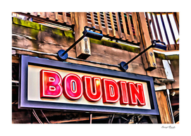 Boudin Bakery Sign
