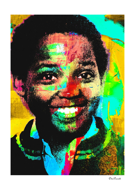 SONS OF AFRICA SELF PORTRAIT AGE 9 COLOURS