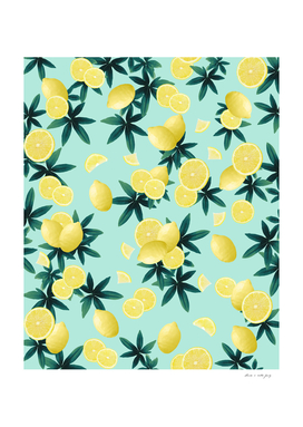 Lemon Twist Vibes #1 #tropical #fruit #decor #art