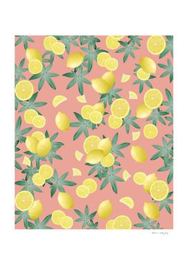 Lemon Twist Vibes #2 #tropical #fruit #decor #art