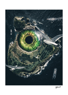 Eye of the sea monster by GEN Z