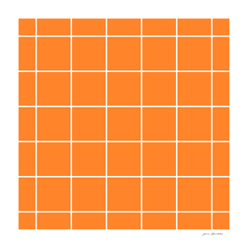 Square geometic pattern on turmeric