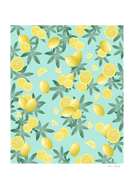 Lemon Twist Vibes #4 #tropical #fruit #decor #art