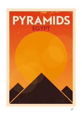 Retro Cairo Poster Design