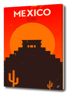 Vintage Mexico Poster Design