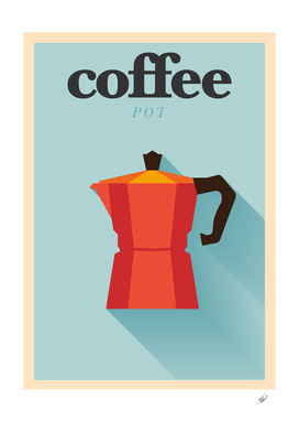 I Love Coffee Pot