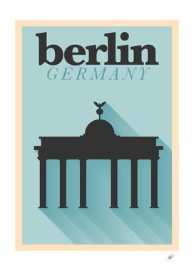 Longshadow Berlin Poster