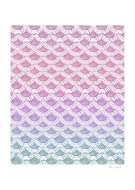 Unicorn Pastel Mermaid Scales #1 #pastel #decor #art