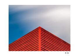 Red corner sky.