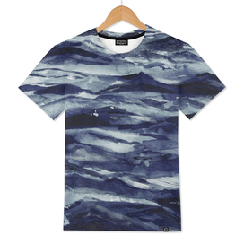 WAVES IN PAYNES GREY