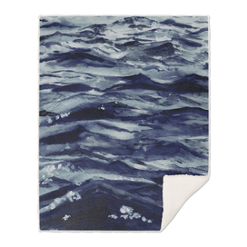 WAVES IN PAYNES GREY
