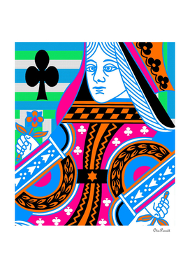 QUEEN OF CLUBS COLOURS 2