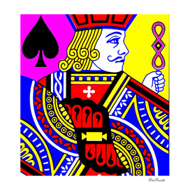 JACK OF SPADES (POPART COLOURS)