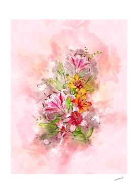 Lilies Bunch