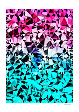 geometric triangle pattern abstract in pink