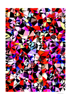 geometric triangle pattern abstract