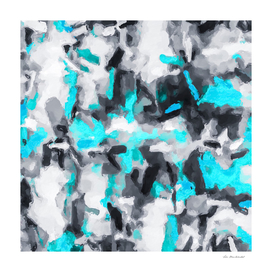 splash painting texture abstract in blue