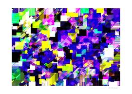 geometric square pixel pattern abstract