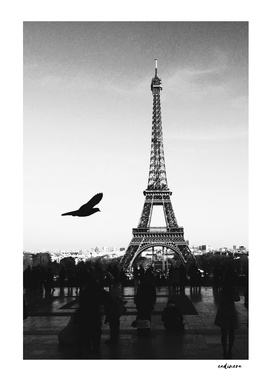 Paris Without Emotion // Black And White Photography