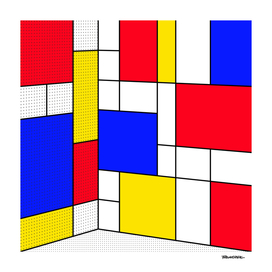 Mondrian in 3-D