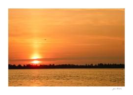 Detroit River Sunrise