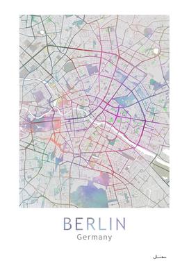 Berlin Map Color