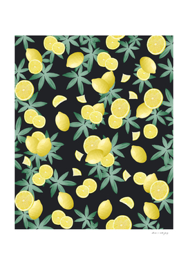 Lemon Twist Vibes #5 #tropical #fruit #decor #art