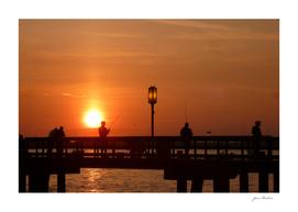 Sunrise At Bishop Park