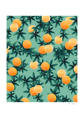 Orange Twist Vibes #1 #tropical #fruit #decor #art