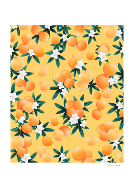 Orange Twist Flower Vibes #3 #tropical #fruit #decor #art