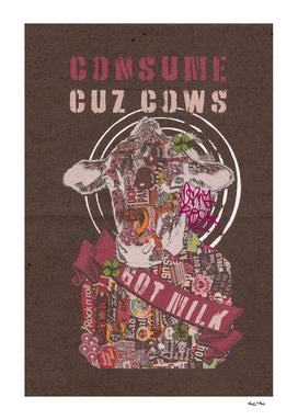 CUZ COWS 2x3