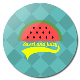 Sweet and juicy