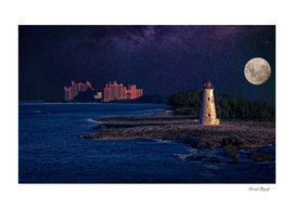 Full Moon Night in Nassau