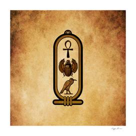 Egyptian cartouche