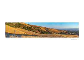 Beautiful Mission Hills panorama landscape in the evening
