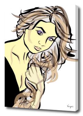 Daniela Lujan portrait