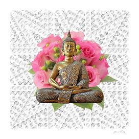 Buddha Rose Mandala
