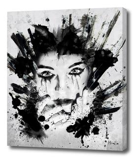 COLLAGE ART 04: negrotinta
