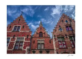 Bruges, houses