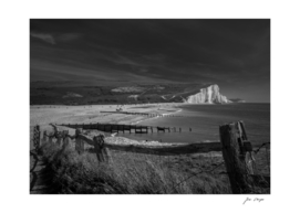 Seven Sisters Black and White