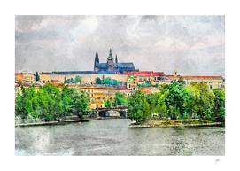 Prague city art #praha #prague