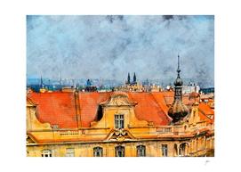 Praha city art #praha #prague
