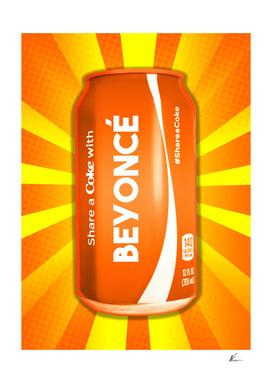 Share a Coke with Beyonce | Pop Art